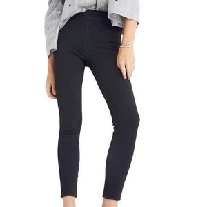 Madewell Pull-On Jeans black frost size 28